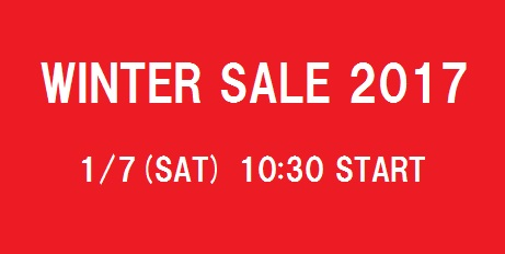 2017 winter sale HP画像